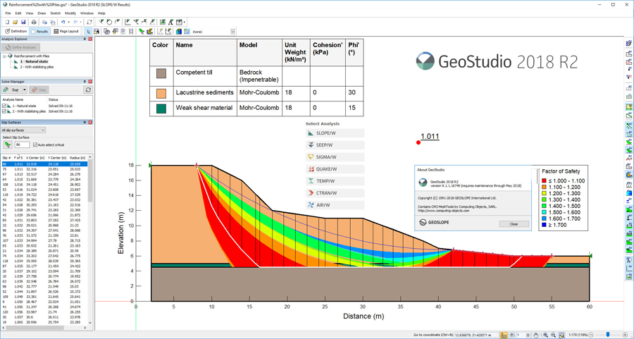 GEO-SLOPE GeoStudio 2018 R2 v9 1 1 16749 | Safecte